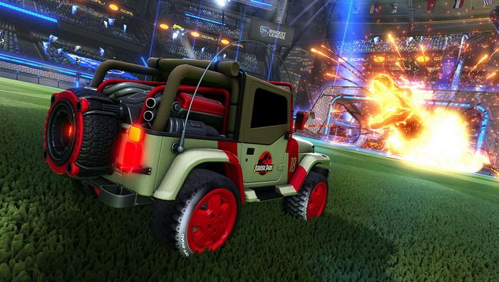 Game doyan kolaborasi Rocket League