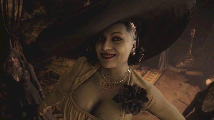 wanita tokoh antagonis resident evil lady dimitrescu