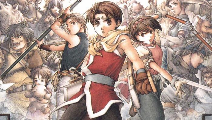 Game Konami Suikoden